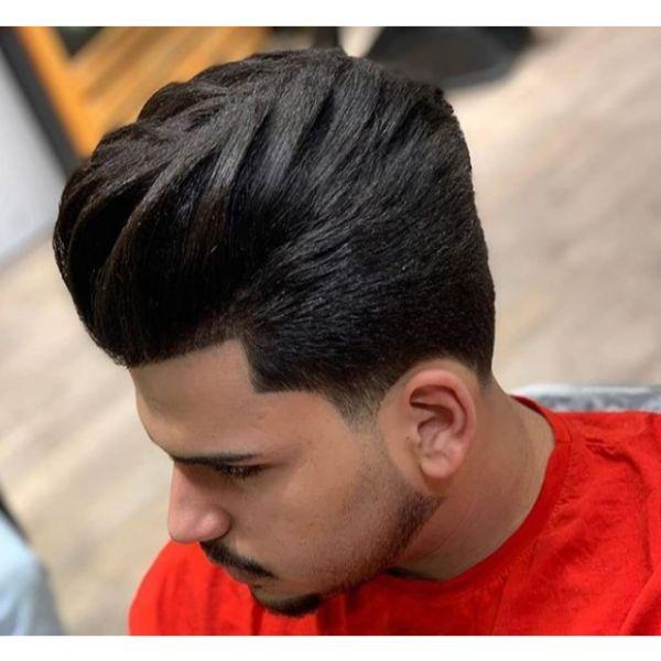 D.A. Taper Fade Haircut