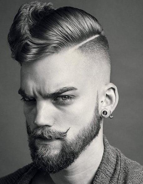 Deep Part Men Haircuts