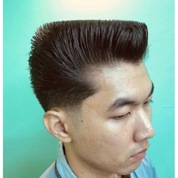Flattop Boogie Short Sides Long Top Hairstyles