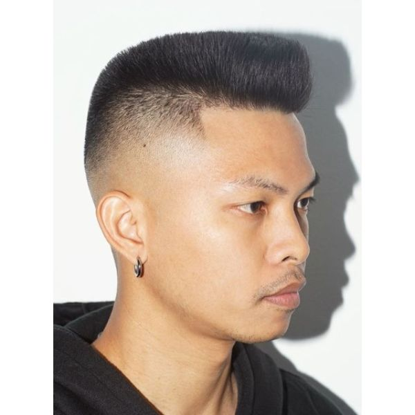 Flattop Hairstyles for Asian Men