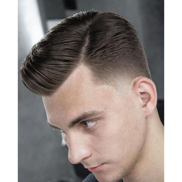Gentleman's Mid Taper Fade Haircut