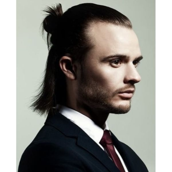 Half Up Half Down Men Haircuts