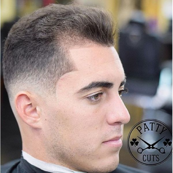 High Fade with Long Top