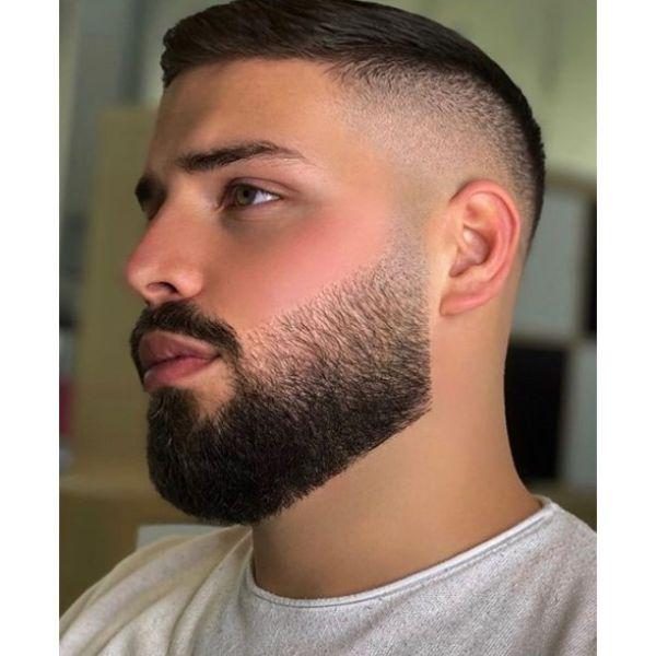 High Skin Fade Hairstyle for Teenage Guys