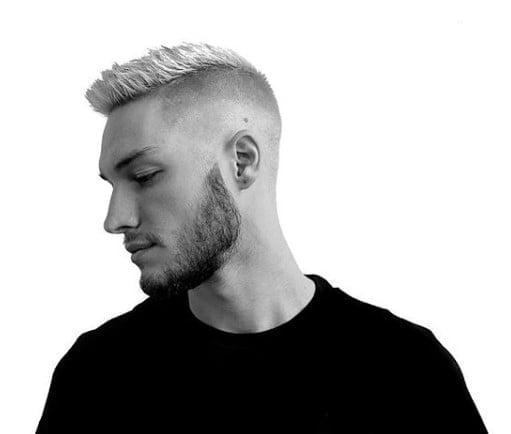 High and Tight Recon Fade Men Haircut