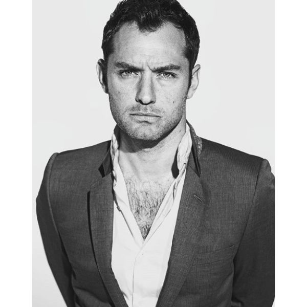 Jude Law's Messy Crop Hairstyle for Balding Men