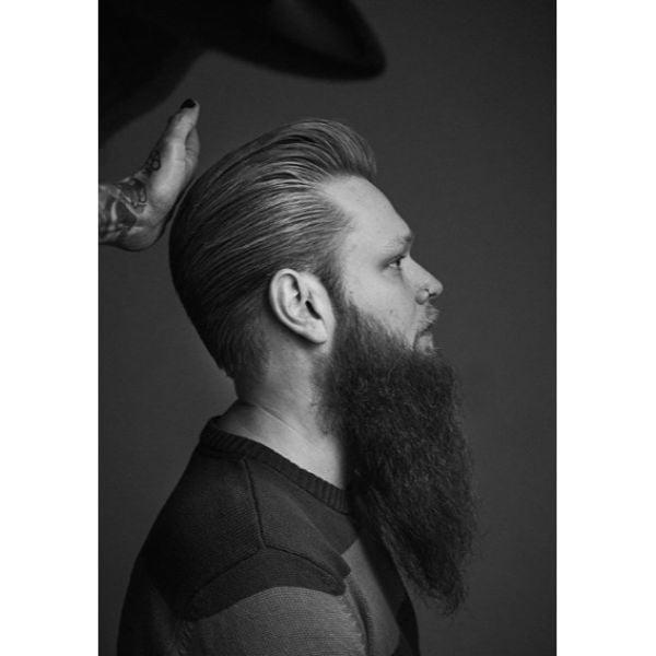 Pompadour Men Haircuts