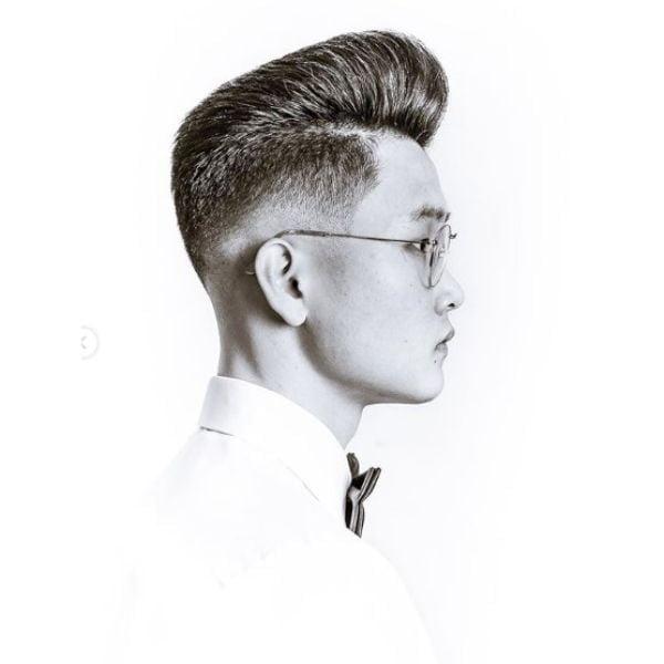 Pompadour for Asian Men