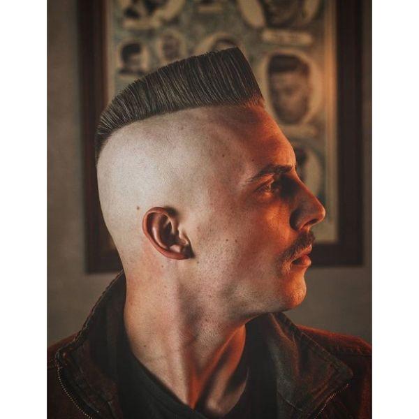 Psycho Quiff Men Haircuts