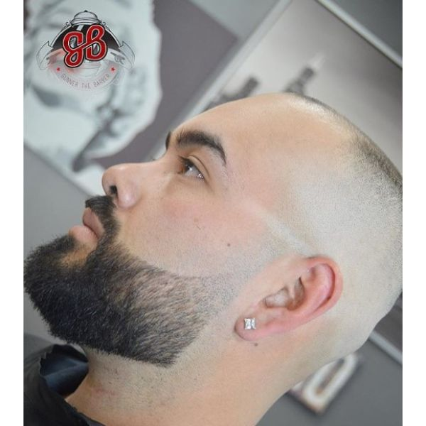 Sharp Bald Fade