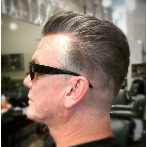SilverFox Classic Gentlemen's Hairstyle