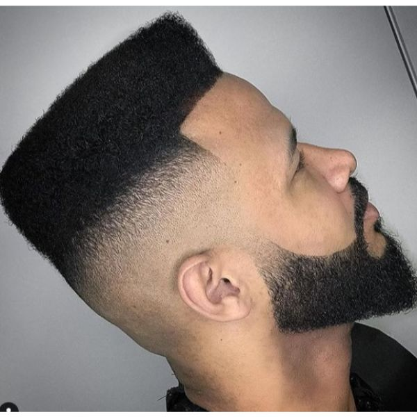 Skin Fade Flattop Short Sides Long Top Hairstyles