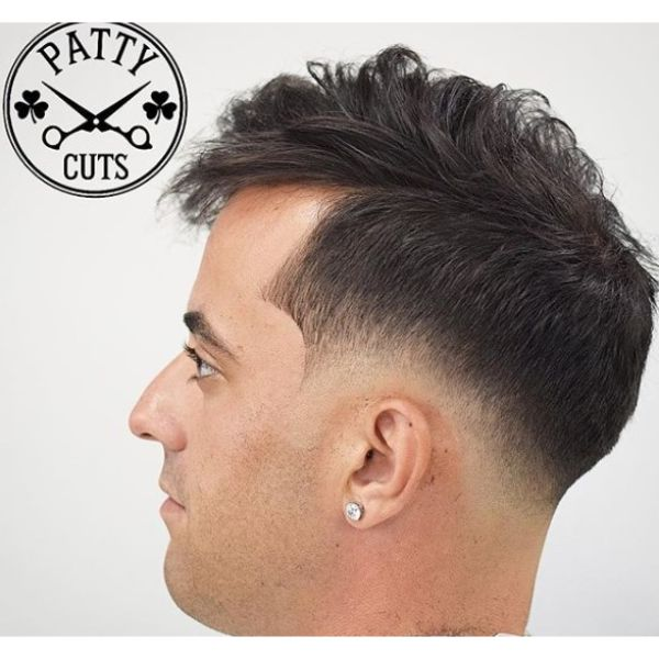 Skin Fade with Fauxhawk