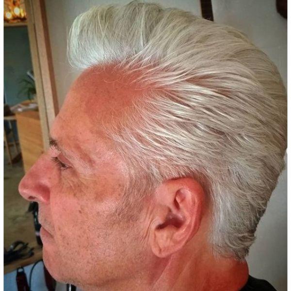 SliverFox Pompadour Haircut