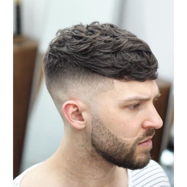 Sloppy Mop Top with Skin Fade