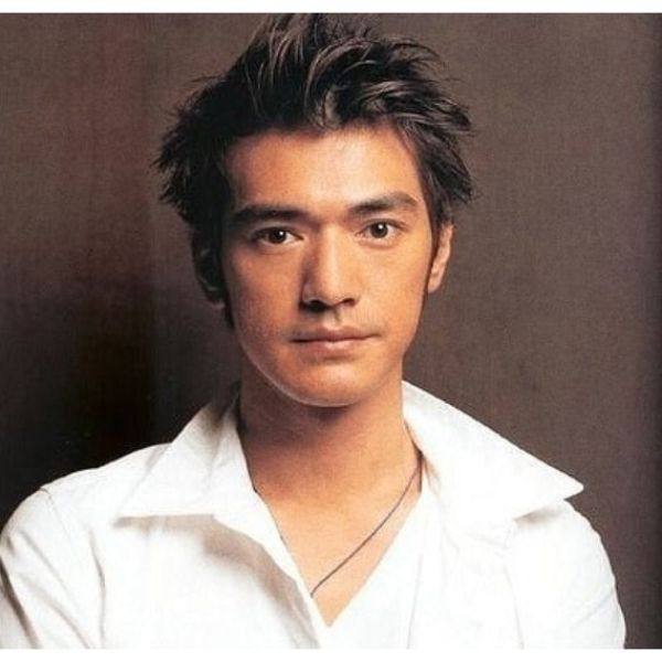 Spiky Messy Flow Hairstyles for Asian Men
