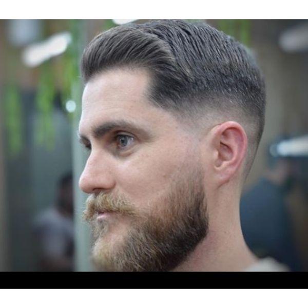 Taper Drop Fade Haircut