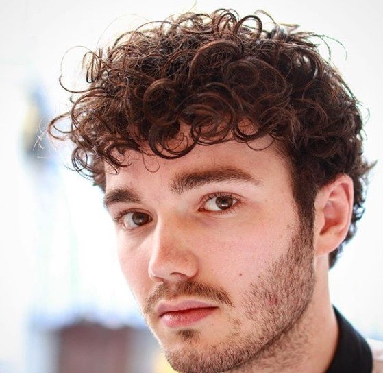 Taper Fade Haircut for Curly Hair