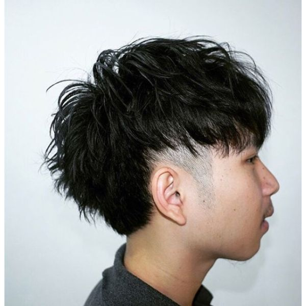 Textured Mullet Haircut