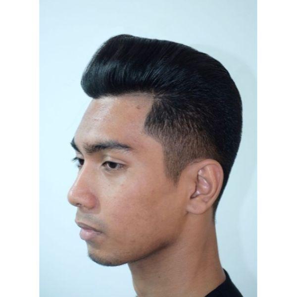 Thai Style Pompadour Haircut