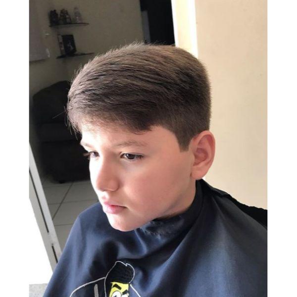 Voluminous Taper Fade Haircut