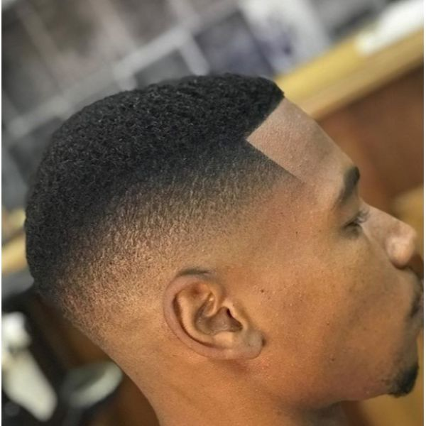 Classic Fade BuzzCut Hairstyles For Black Men