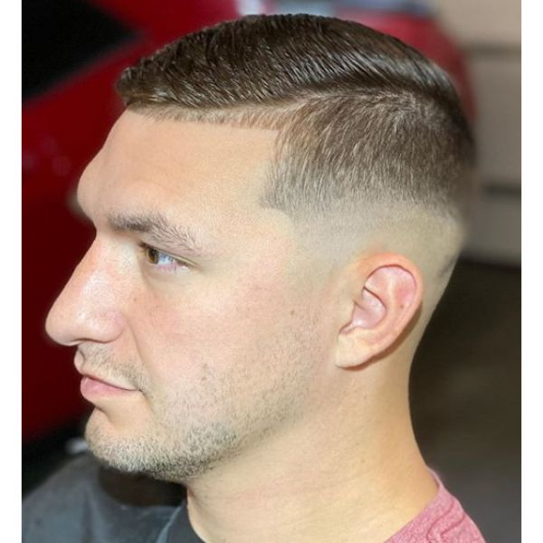 Combover Short Haircuts For Men