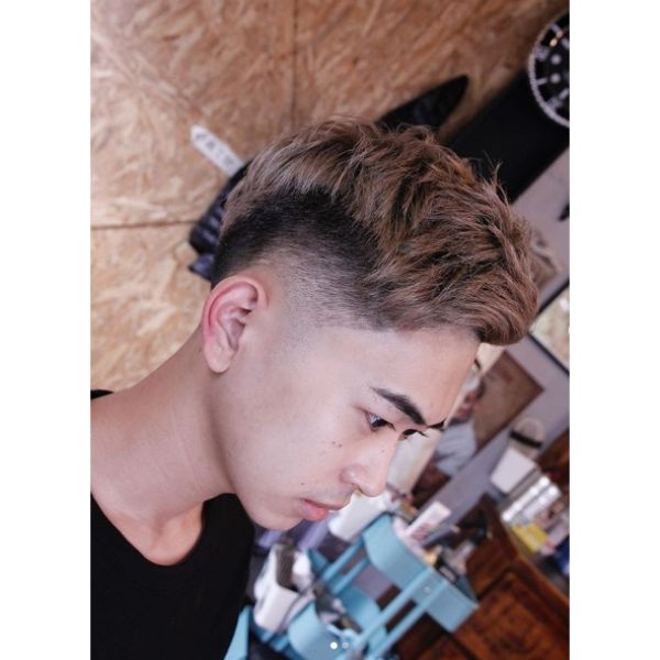 Cropped Undercut with Mid Fade