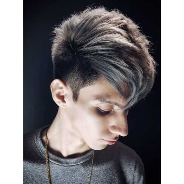 Disconnected V-shaped Long Top Undercut