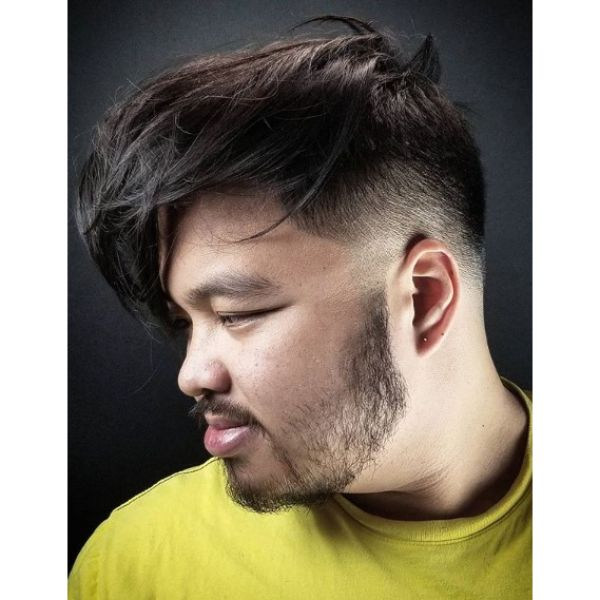 Extra-long Top For Disconnected Undercut Hairstyles