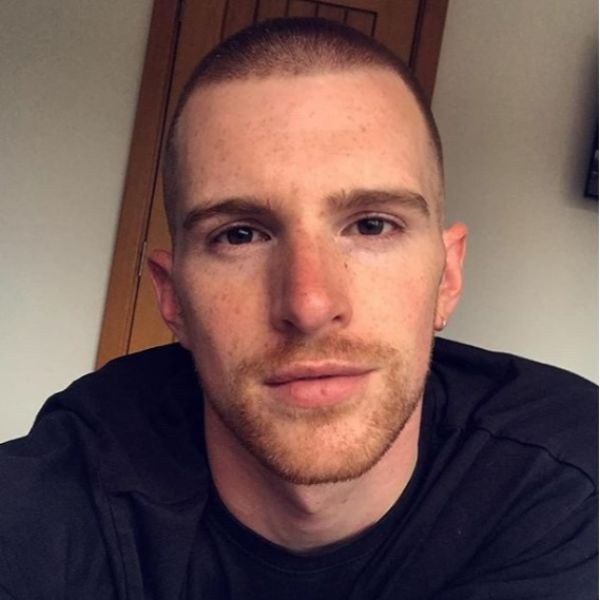 Ginger Buzz Cut Hairstyle