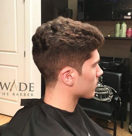 Heavy medium length hairstyles for men