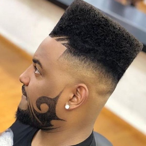 Hi-top with Beard Design