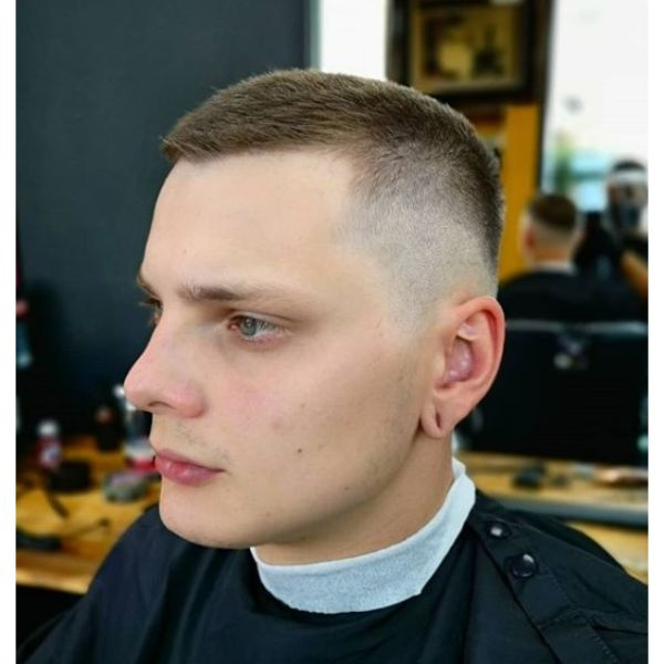 High And Tight Buzz Cut with Spiky Top