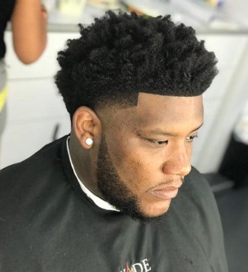 High Fade medium length hairstyles for men