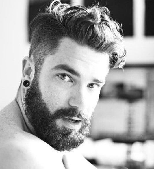 Medium Top Hairstyle For Men