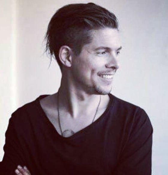 Messy Slickback Undercut Hairstyles For Men
