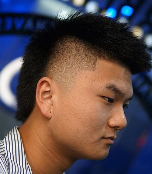 Mullet Cut with Tapered Sides Medium Hairstyles For Men