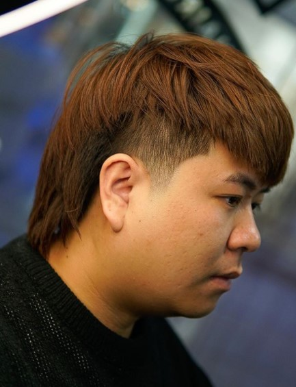 Mullet-Shaggy Medium Hairstyles For Asian Men