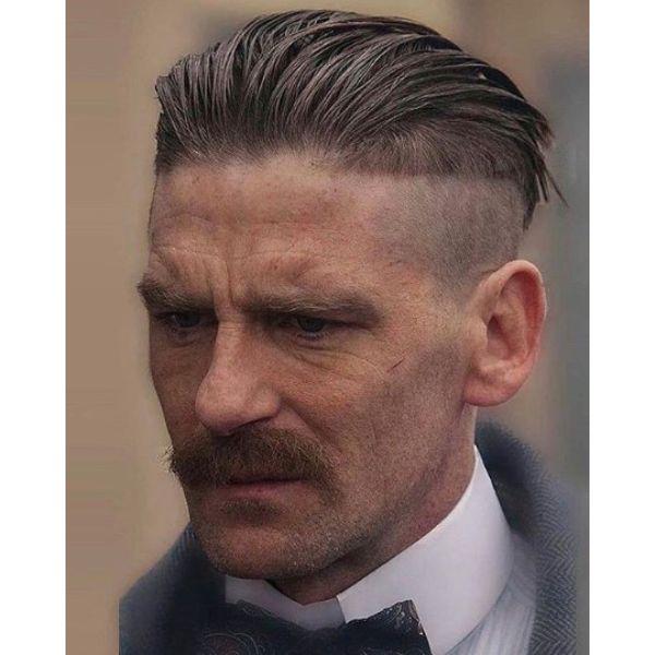 Peaky Blinders Style Undercut Hairstyles For Men