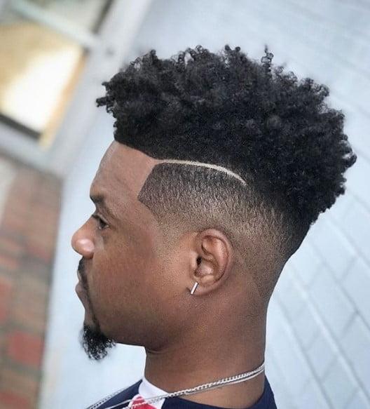 Shadow Drop Fade medium length hairstyles for men