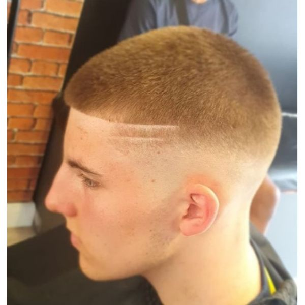 Skin Fade with Double Side Design