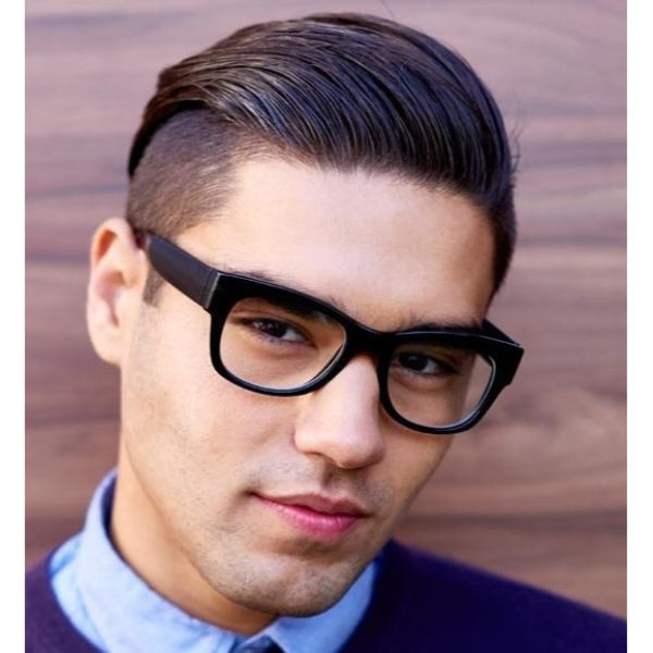 SlickBack Clean Undercut Hairstyle For Men