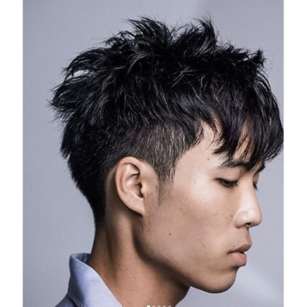 Two Blocks Disconnected Undercut Hairstyles For Men
