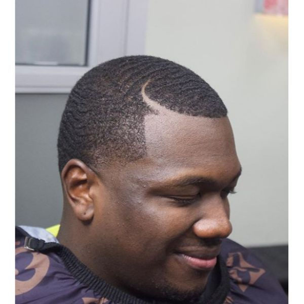 Wave Length Juice Cut Hairstyles For Black Men