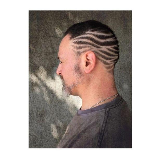 Zebra-shaped Razor Design for Buzz Cut