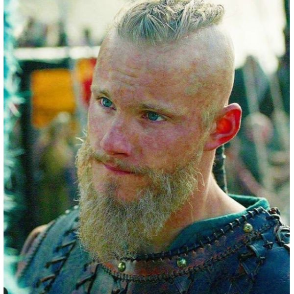 Bald Fade with Twists Viking Hairstyles