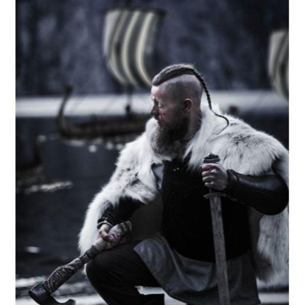 Barbarian Style Braids Viking Hairstyles