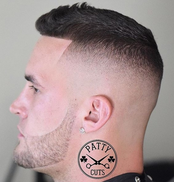 Blended High Fade with Textured Top