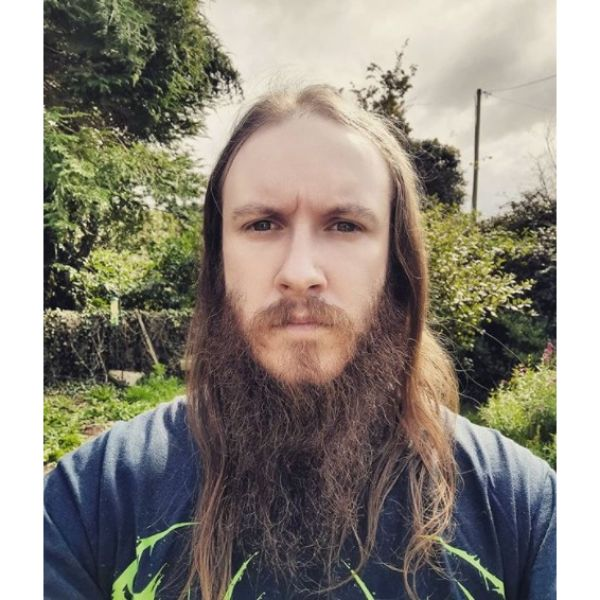 Epic Beard and Long Hairstyle For Men